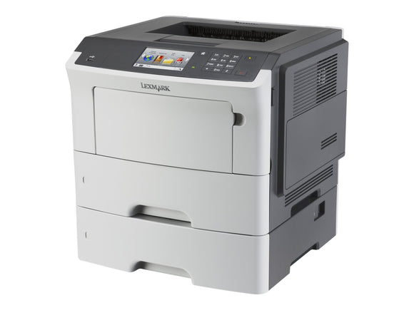 Lexmark MS610dte Monochrome Laser Printer with 550 Sheet Tray, Network Ready, Duplex Printing and Professional Features