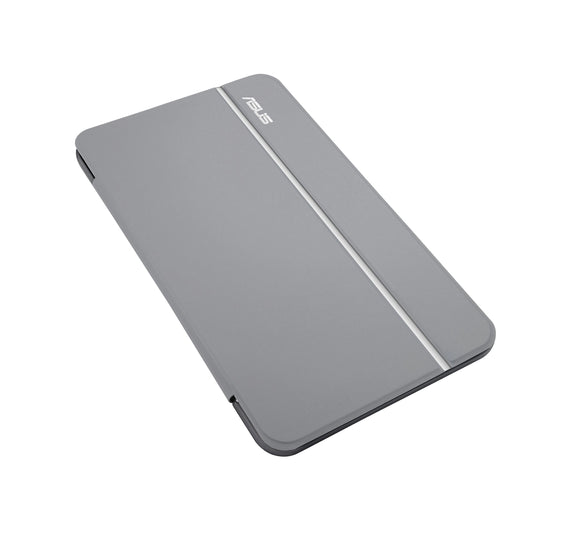 ASUS MagSmart Cover for MeMO Pad ME181, Silver Stripe (90XB015P-BSL1N0)
