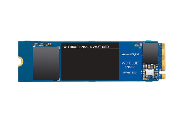 WD Blue SN550 500GB Nvme Internal SSD - Gen3 PCIe 8GB/s, M.2 2280, 3D NAND, Up to 2, 400 MB/S - WDS500G2B0C