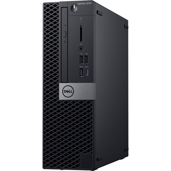 Dell OptiPlex 5070 Desktop Computer - Intel Core i5-9500 - 8GB RAM - 1TB HDD - Small Form Factor