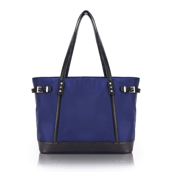 McKlein 17567 USA Aria Nylon Ladies' Tote Navy