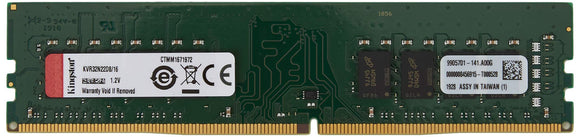 Kingston 16GB 3200MHz DDR4 Non-ECC CL22 DIMM 2Rx8