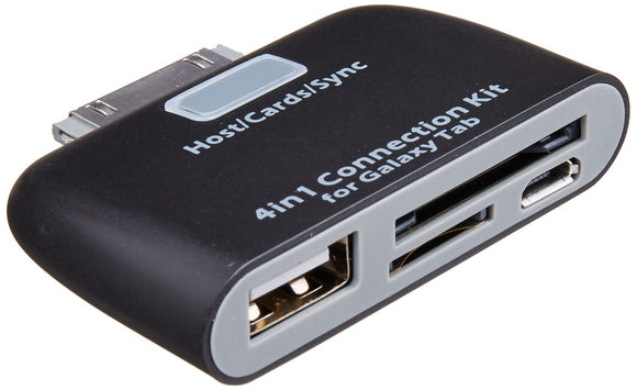 4-in-1 Connectivity Adapter for Galaxy Tablets
