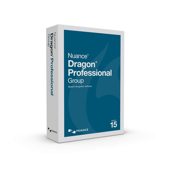Nuance Dragon Professional Group Version 15.0 Single User