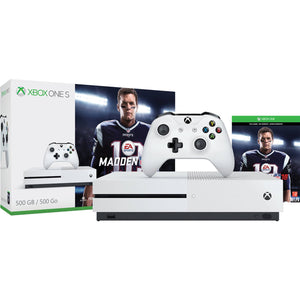 Xbox One S 500GB Console - Madden NFL 18 Bundle [Discontinued]