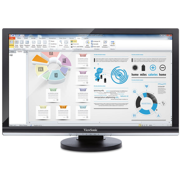 ViewSonic Thin Client SD-T245_BK_US0 24-Inch Screen LED-Lit Monitor