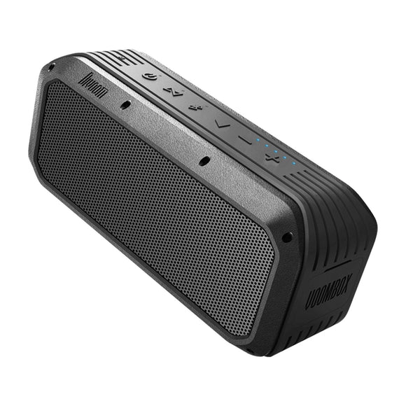 Divoom Voombox-Power-Bluetooth Portable Speaker, Powerful bass, Crystal Clear Stereo Sound, Power Bank, Wireless Range, Microphone, IPX5,