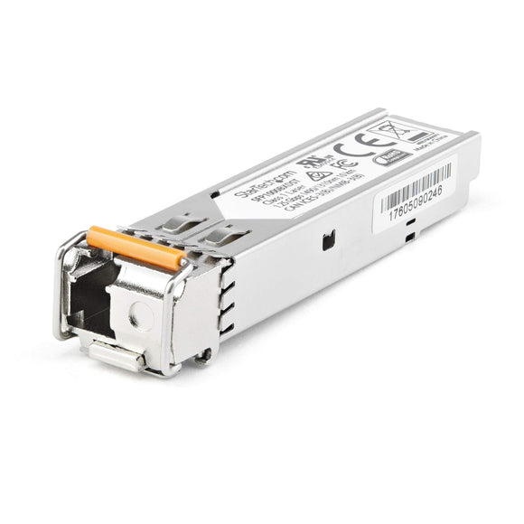 StarTech.com Dell EMC SFP-1G-BX10-D Compatible SFP Module - 1000Base-BX10 Fiber Optical Transceiver Downstream (SFP1GBX10DES)
