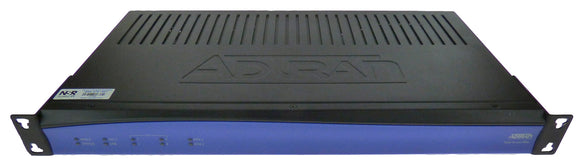 Adtran 4243924F1 Total Access 924E Gen 3 - Router - Desktop, Rack-Mountable, Wall-Mountable, Black/Blue