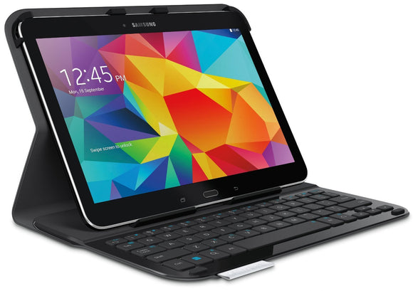 Open Box Logitech Ultrathin Keyboard Folio for Samsung Galaxy Tab4 10.1