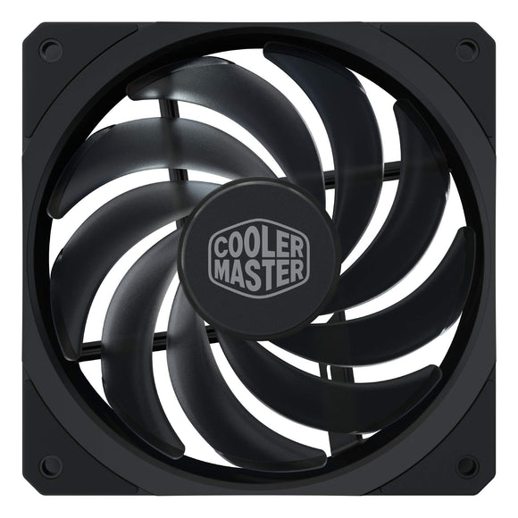 Cooler Master MasterFan SF120R 120mm High Performance Square Frame Fan w/Static Pressure, Silent Technology, and PWM Control Fan