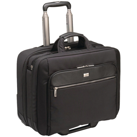 Case Logic CLRS Security Friendly Rolling 17-Inch Laptop Case (Black)