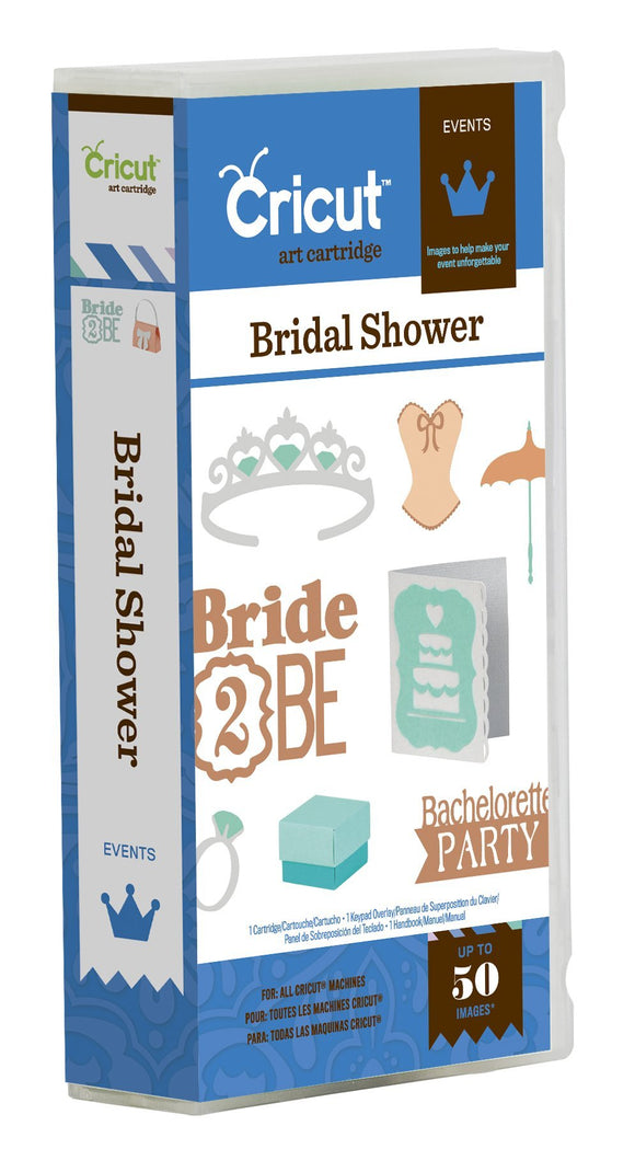 Cricut 2001291 Bridal Shower Cartridge