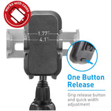 Macally MGRIP2 Suction Cup Mount for iPhone, iPod, Cell Phones, MP4 and GPS-Black