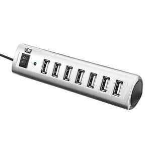 Adesso AUH-2070P - 7 Port USB 2.0 Hub Power Adapter