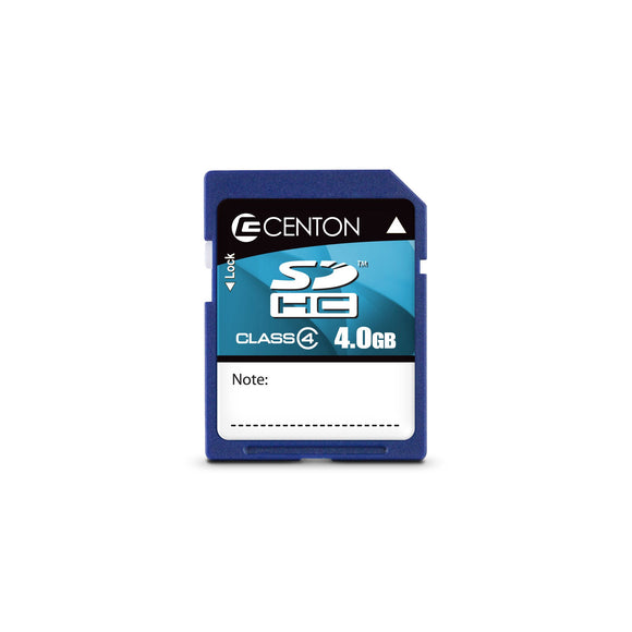 Centon Electronics 4GB Class 4 SD Card (S1-SDHC4-4G)