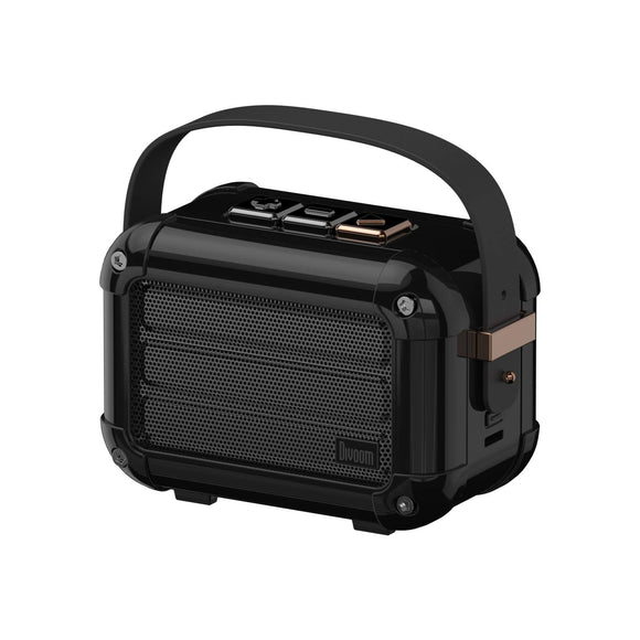 Divoom Macchiato Stylish Portable Bluetooth Speaker with FM Radio, 6W Output with TWS Function