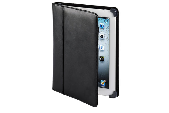 Cyber Acoustics IC-1003BK Leather Case/Cover for iPad, Black