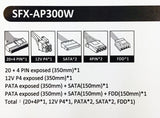 APEVIA SFX-AP300W Mini ITX Solution / Micro ATX / SFX 300W Power Supply