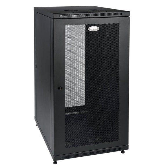 TRIPP LITE 24U Rack Enclosure Server Cabinet 33-Inch Deep with Doors and Sides