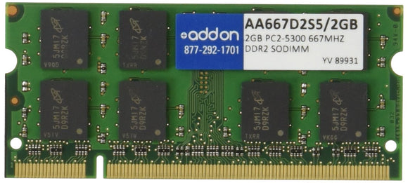 ACP 2 GB 667mhz Ddr2 Pc2-5300 200pin Industry Standard Sodimm Mac/PC