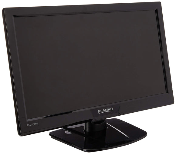 19.5in Wide Led Monitor Black W/Analog/Dvi-D Speakers Pll2010mw