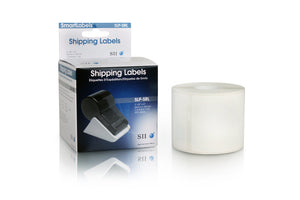 Seiko SLP-SRL Instruments Shipping Labels for Smart Label Printers, White
