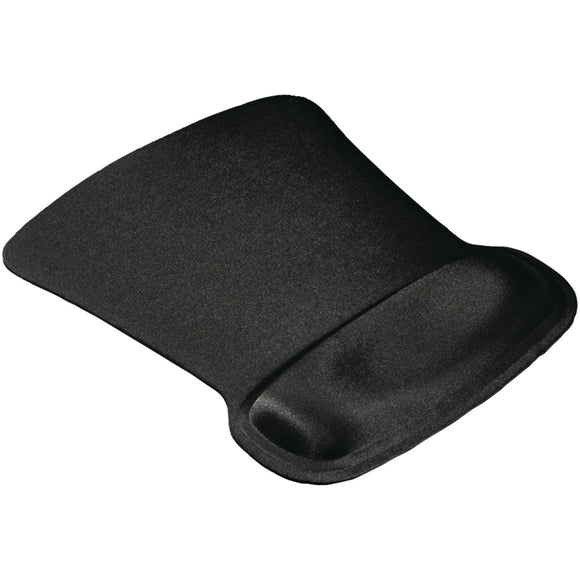 Ergoprene Blk Gel Mouse Pad W/Wrist Rest