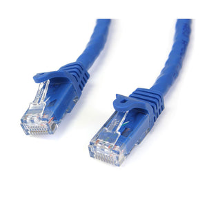 StarTech.com Gigabit Snagless RJ45 UTP Cat6 Patch Cable, 5-Feet Patch Cord N6PATCH5BL (Blue)