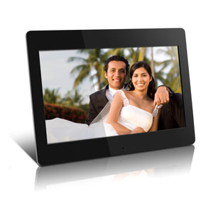 Aluratek High Resolution ADMPF114F 14 inch Digital Photo Frame w/4GB Built-in Memory and Remote(1600 x 900 Resolution)