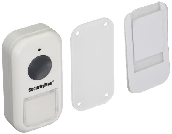 Securityman IWATCHALARMD Add-on Wireless Door Bell, White (SM-105DB)