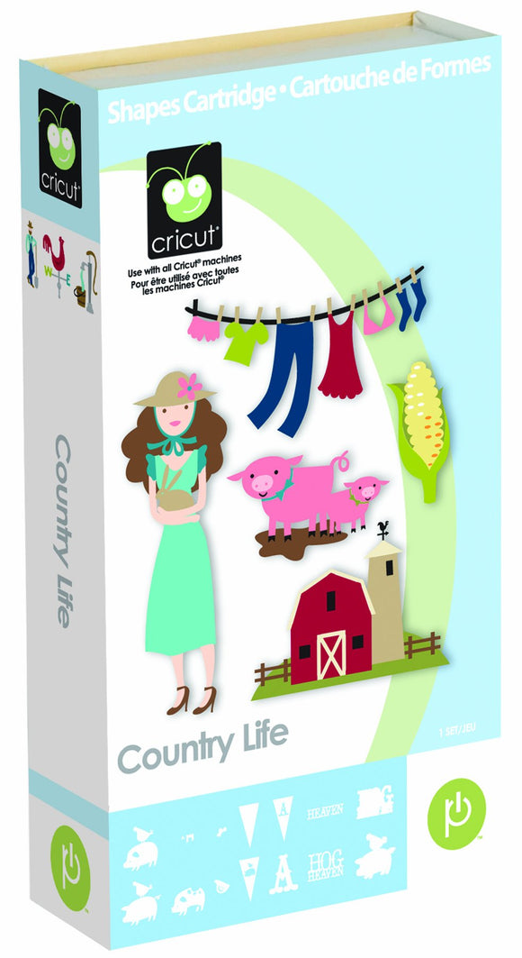 Cricut Craft Country Life Cartridge