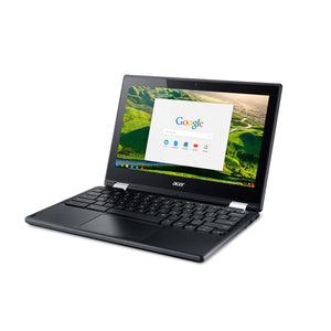 Open Box Acer C771T-C1WS Chromebook with Intel Celeron 3855U, 4GB 32GB eMMC