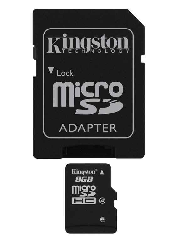 8GB MICROSDHC CLASS 4 FLASH CARD