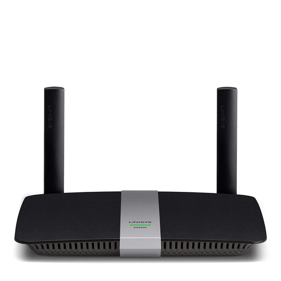 Linksys AC1200 Dual Band Smart Wireless Router with Gigabit and USB (EA6350-CA)
