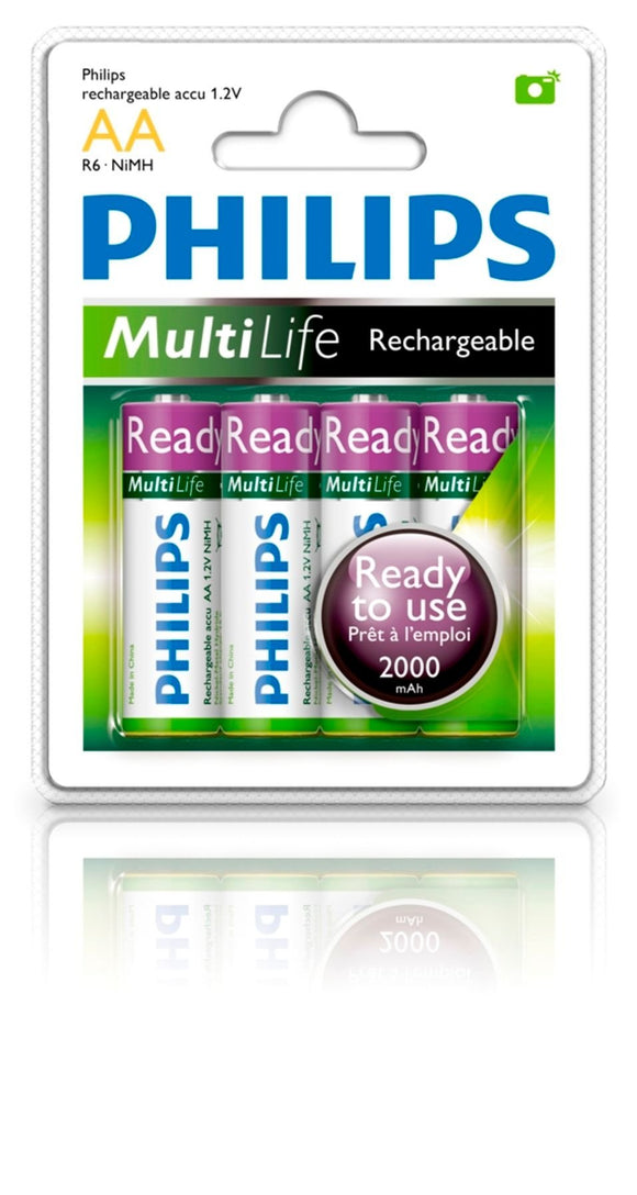 4pk R6b4rtu20 Aa Nimh 2000mah Rechargeable Battery (vf)