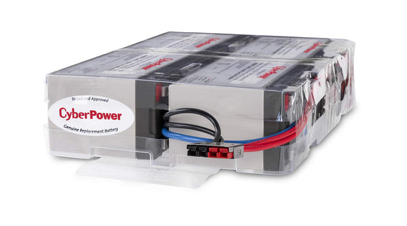 CyberPower RB1290X4F UPS Replacement Battery Cartridge, 12V/9Ah
