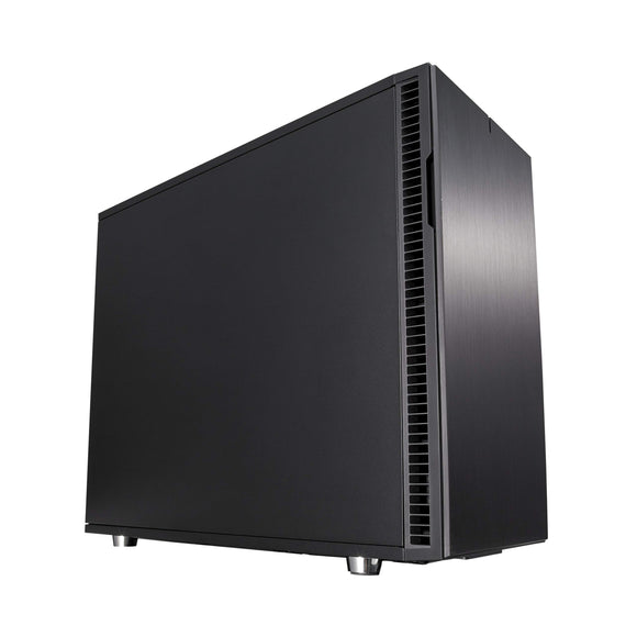 Fractal Design FD-CA-DEF-R6C-BK-TGL Computer Case Define R6 USB-C Black TG No Power Supply ATX Mid Tower with Window