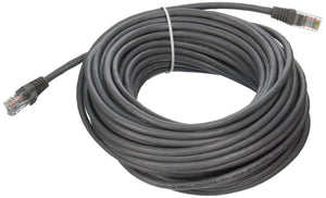 C2G 19305 Cat5e Cable - Snagless Unshielded Ethernet Network Patch Cable, Gray (50 Feet, 15.24 Meters)