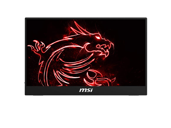 MSI Frameless Bezel Glass Surface 1920 X 1080 USB/HDMI Smart Cover Included IPS Portable Monitor (Optix MAG161V)
