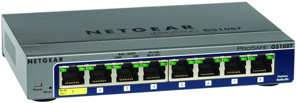 8 Port Gigabit Smart Switch