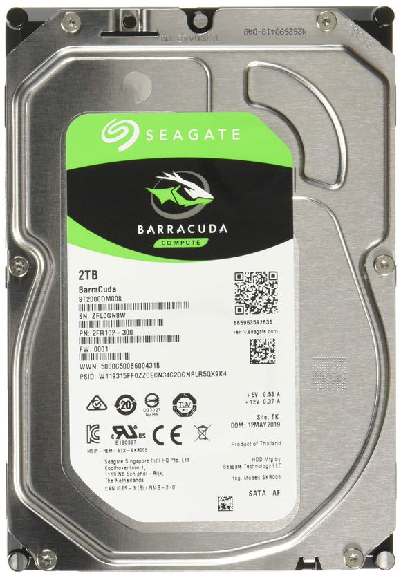 Seagate ST2000DM008 Hard Drives 2000 256 MB Cache 3.5