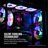 Cooler Master R4-120R-203C-R1 Master Fan MF120R- 120mm Air Balance Addressable ARGB 3in1 Case Fans Computer Cases CPU Coolers and Radiators