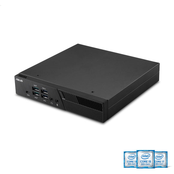 ASUS PB60-B3041ZC Mini PC with Intel Core i3-8100T and Integrated 4K UHD Graphics