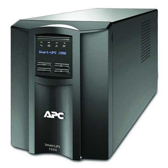 ASUS APC 1500VA Smart-UPS with SmartConnect, Pure Sinewave UPS Battery Backup, Line Interactive, 120V Uninterruptible Power Supply (SMT1500C)