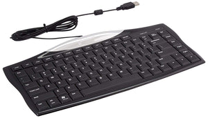 Evoluent Wired Essentials Full Featured Compact Keyboard - EKB