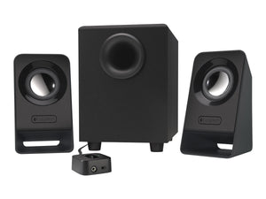 Refurbished Logitech Multimedia 2.1 Speakers Z213 for PC and Mobile Devices