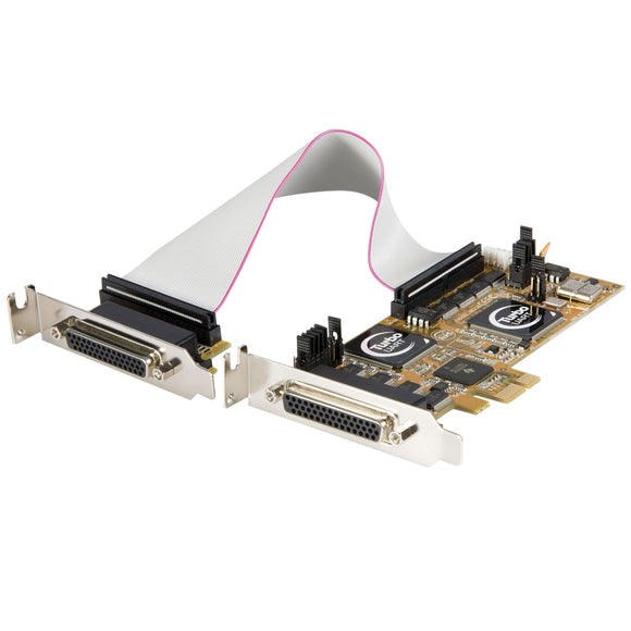 StarTech.com 8 Port PCI Express Low Profile Serial Adapter Card - Serial Adapter - PCIe - RS-232-8 Ports - PEX8S950LP