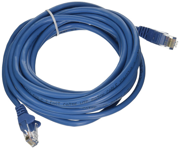 CABLE,CAT5E,UTP,RJ45M/M,14',BLU,PATCH,SNAGLESS