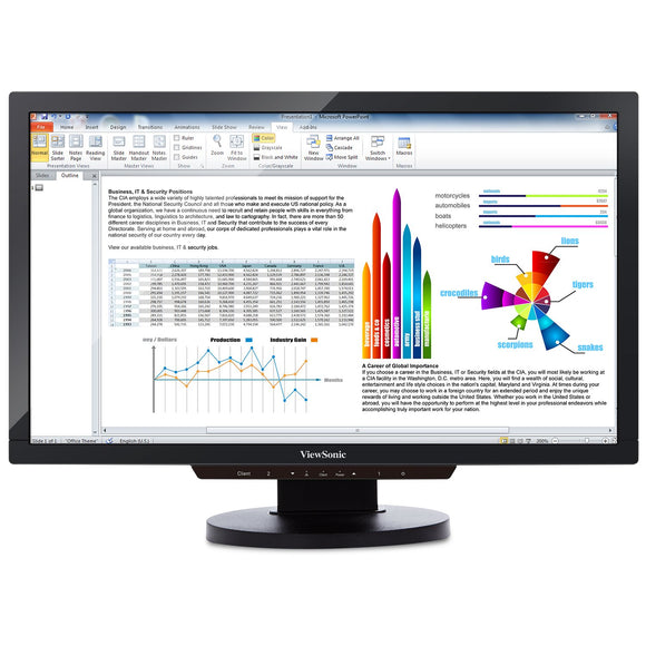 Open Box ViewSonic SD-T225_BK_US0 22-Inch Screen LCD Thin Client Monitor